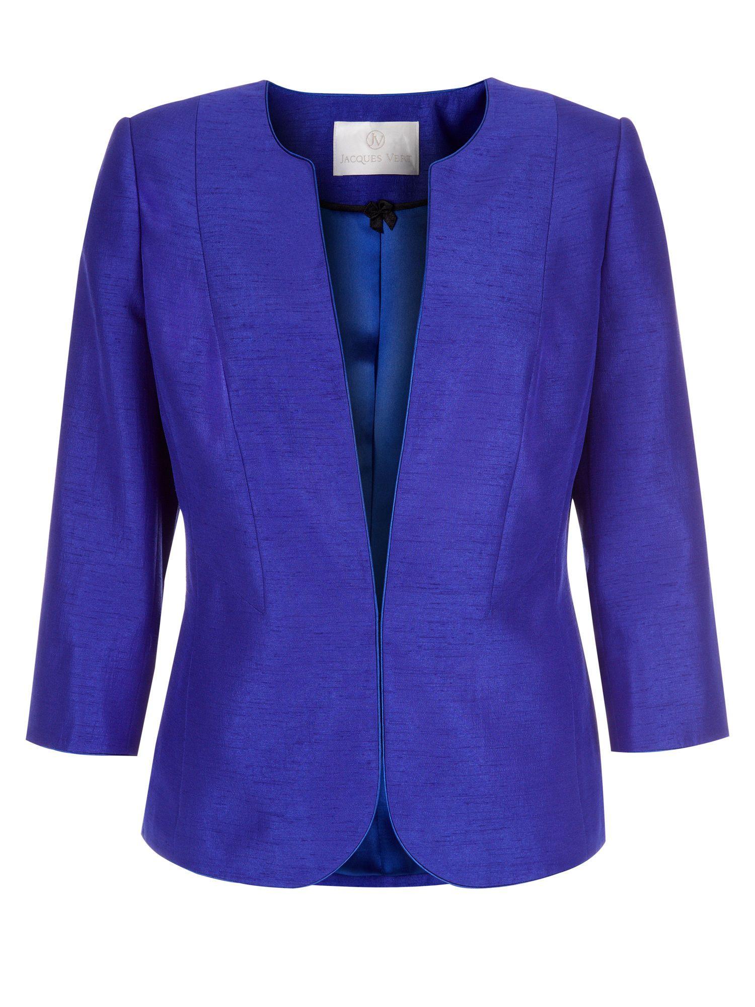 Jacques vert elegant collarless jacket style clothes pinterest