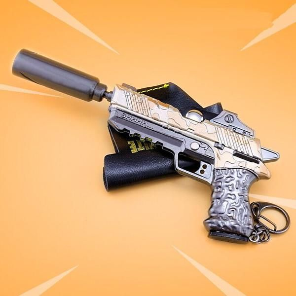 Fortnite Battle Royale Suppressed Pistol Silenced Pistol Weapon