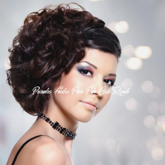 Asistir A Peinados Faciles Para Pelo Corto Rizado Puede Ser Un Desastre Si Olvida Estas 15 Re…  – Peinados