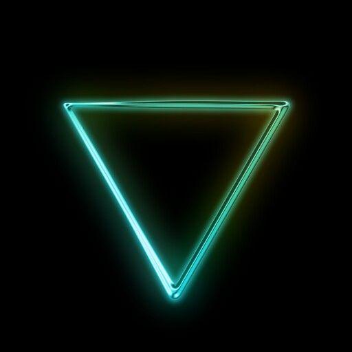 Neon Green Triangle Neon Png Paint Splash Background Love Symbols