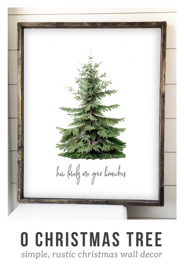Pin On Rustic Christmas Trees