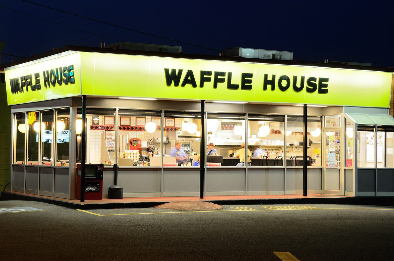 Waffle House rolls out food truck for catering | Pinterest