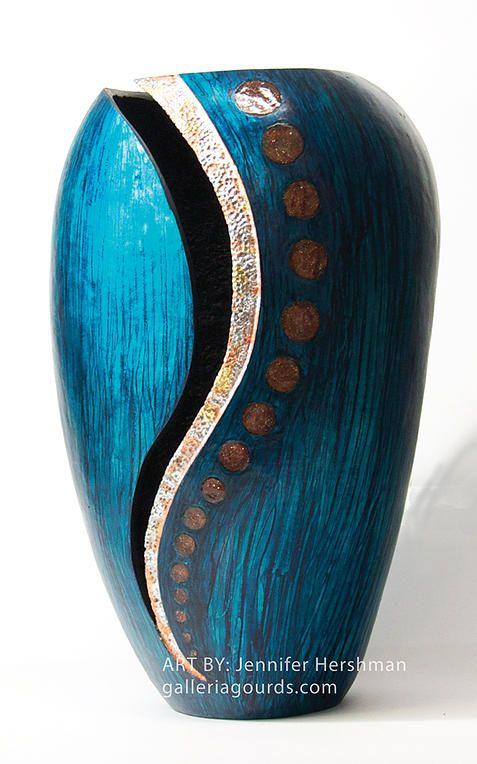 galleria gourds jennifer hershman gourd art | MORE GOURDS ...