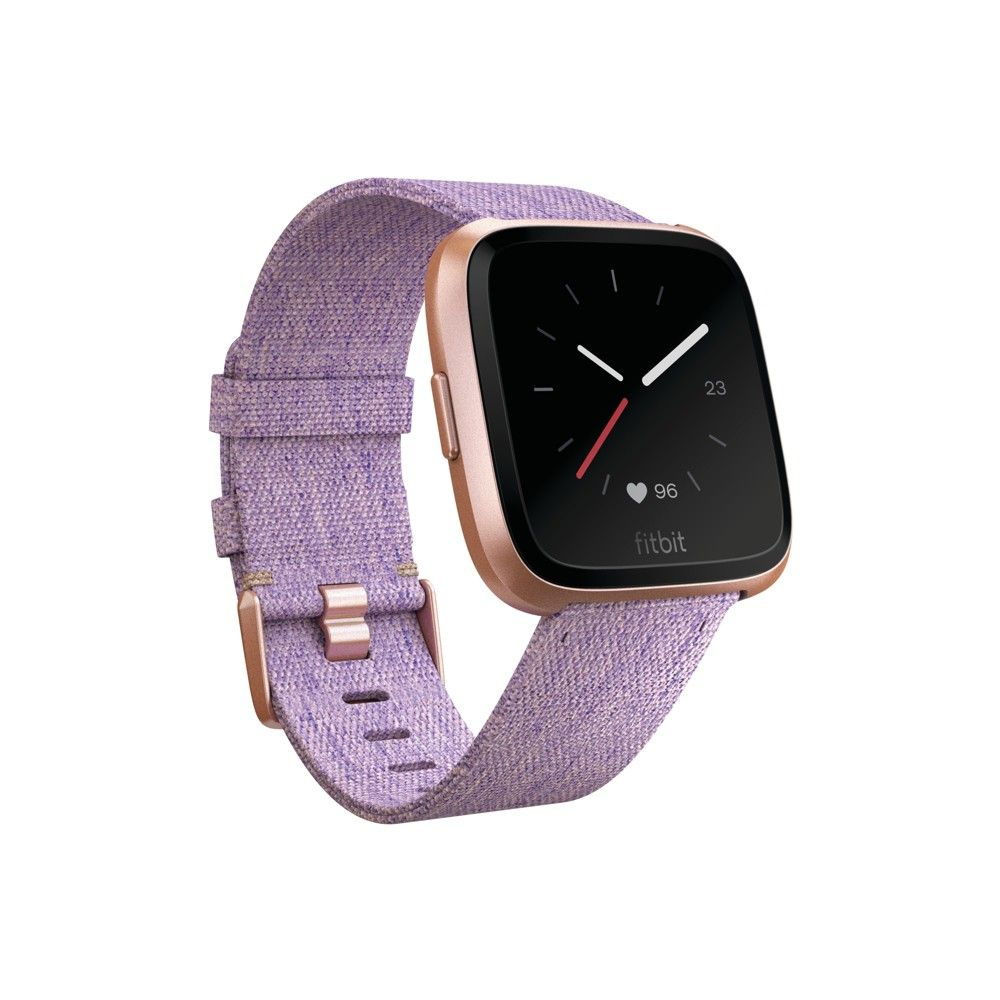 Fitbit Versa Smartwatch With Small Large Bands Special Edition