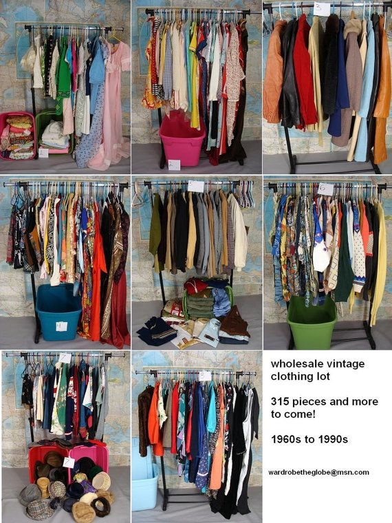 315pc Wholesale Vintage Clothing Lot Inventory Cleanout 60s 70s 80s 90s Clothes With More Added Every Week Pick Up Only Fr Vintage Outfits Clothes 90s Outfit