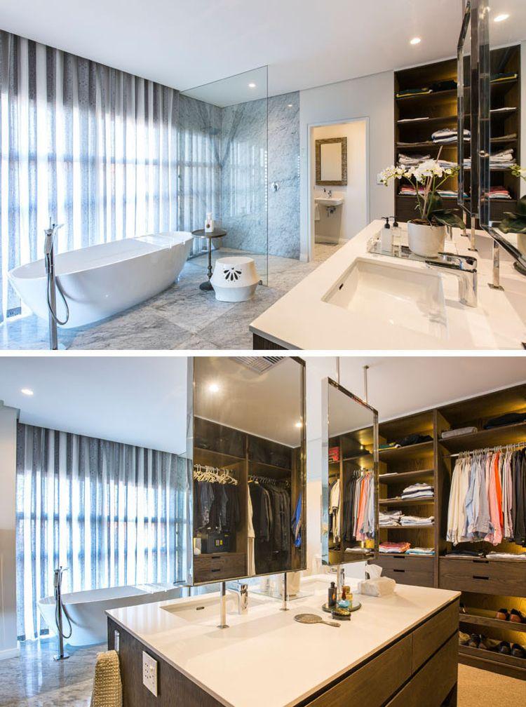 AuBergewohnlich Feng Shui Haus Innendesign Bad Begehbarer Kleiderschrank Glaswand