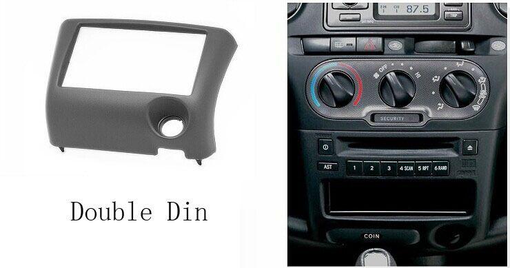 Car stereo Radio fascia frame installation Trim kit for TOYOTA Yaris Vitz Platz