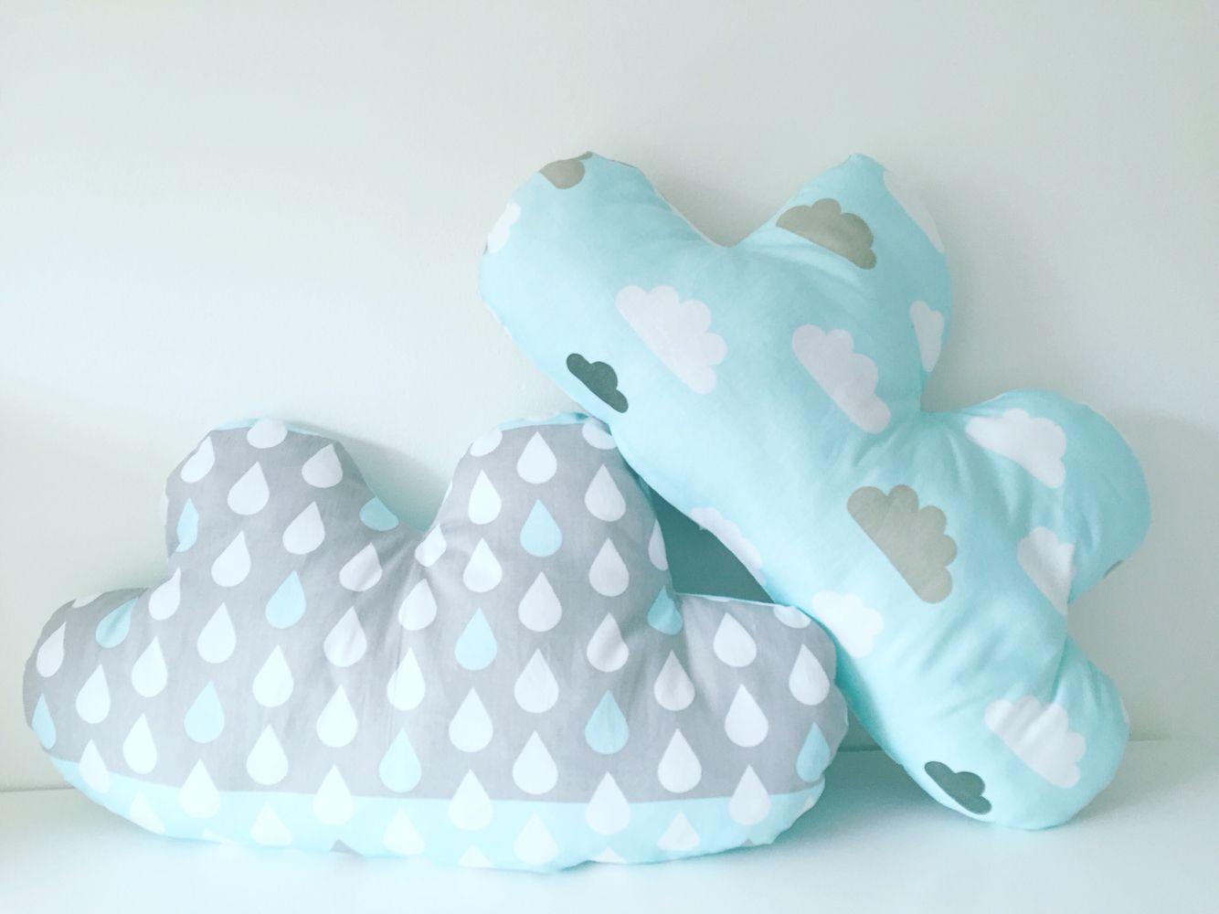 Blauwe wolkjes wokkkussens