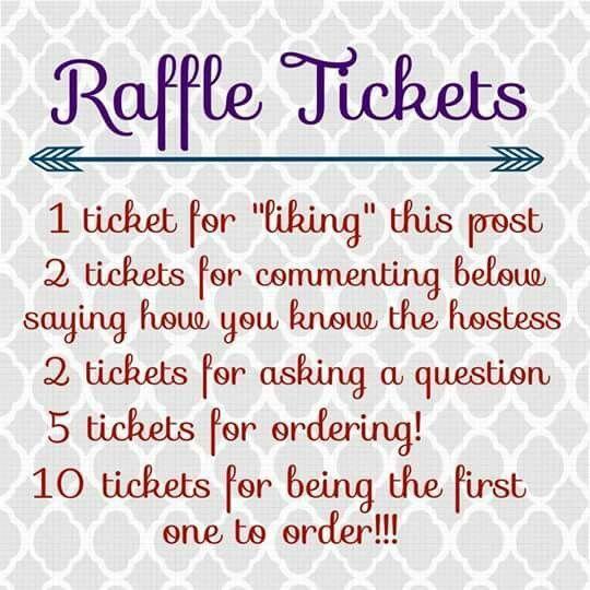 ideas for raffle tickets