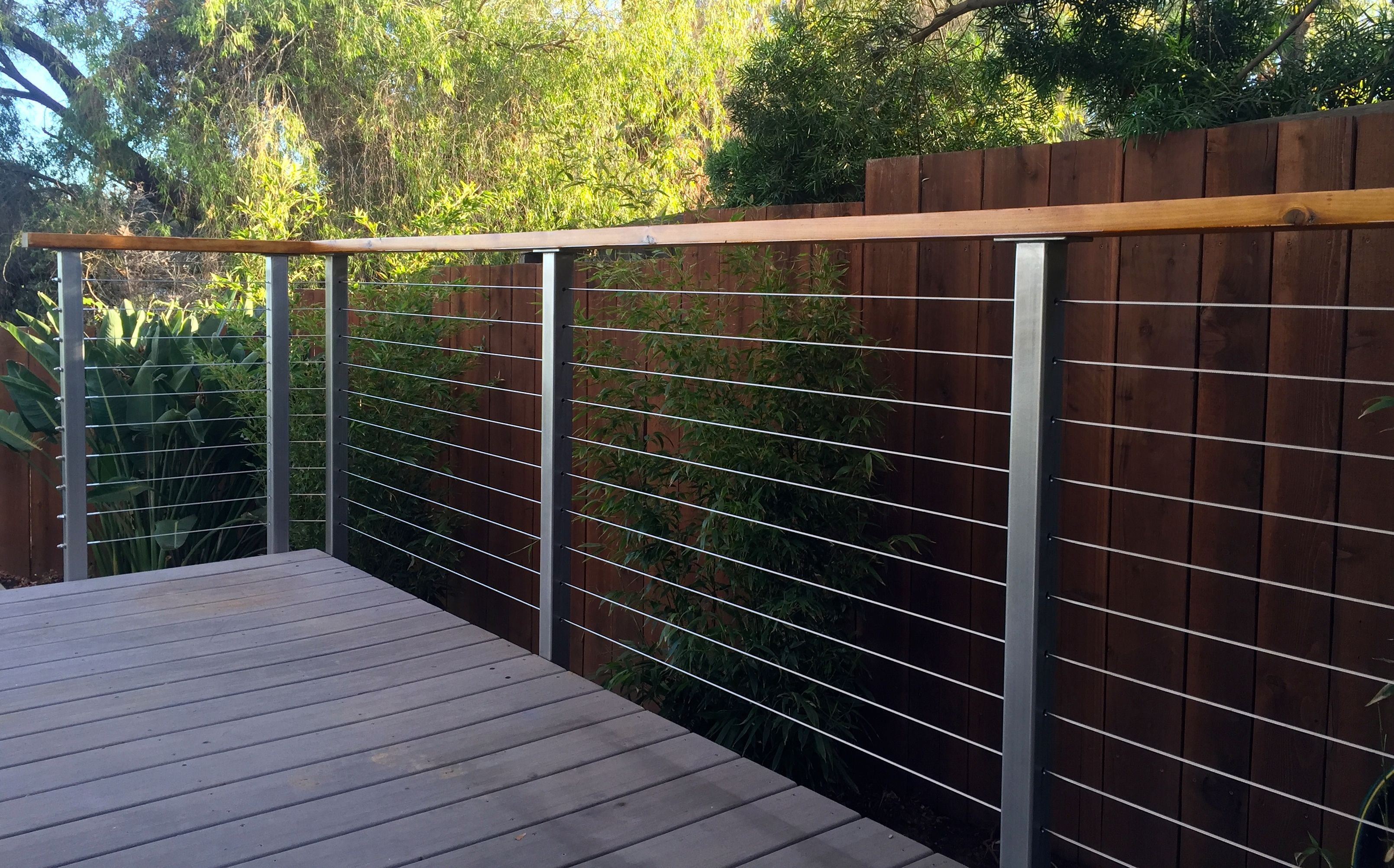 Extremely Durable And Attractive Cable Deck Railing For Decks Diy Stainless Steel