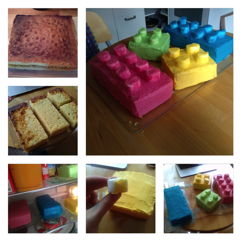 Www Sanella De Rezepte: Lego Kuchen, Lego Und