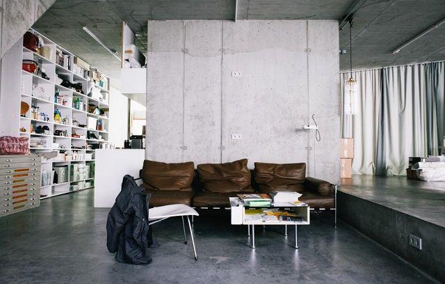 Wohnung-Büro der Architekt Brandlhuber, Mitte, Berlin | modernes ...