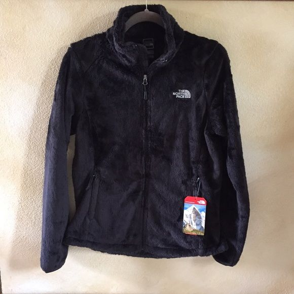 North Face Osito 2 Jacket NWT Super soft fleece jacket with a cozy collar.  Two zipper pockets and curved drawstring hem. North Face Jackets & Coats