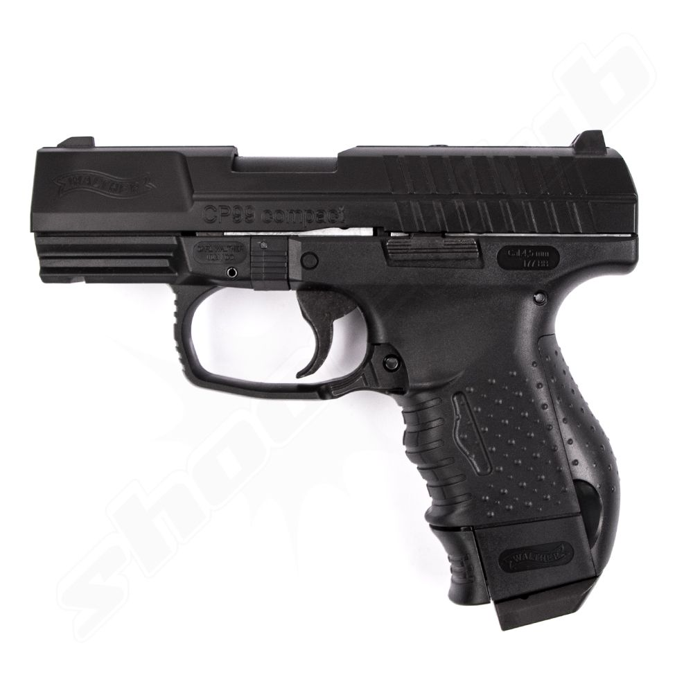 Walther CP99 compact CO2 Pistole 4,5 mm - Blow Back
