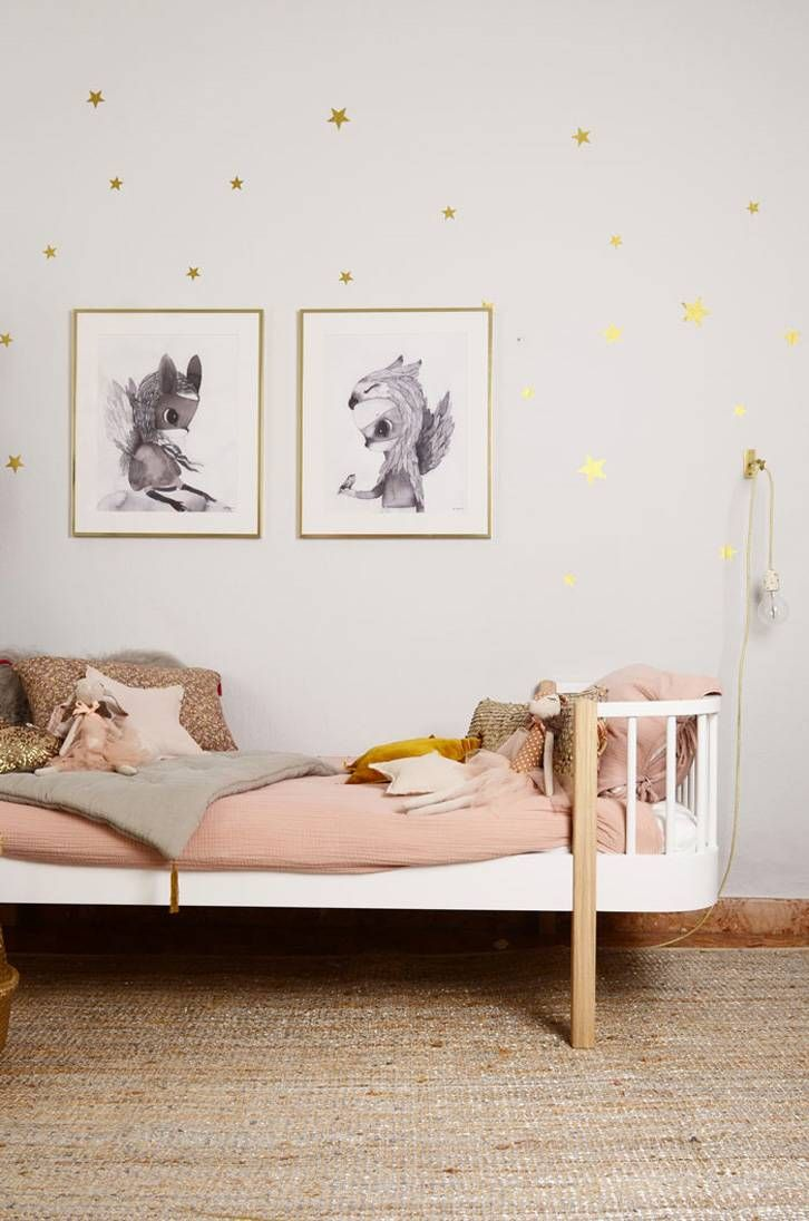 When pictures inspired me #163   Chambre bébé fille, Rose poudre et ...