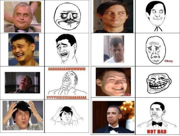 c94654a74422bf23b621571d9e1e96fe all the troll faces in one place ultimate funny pictures