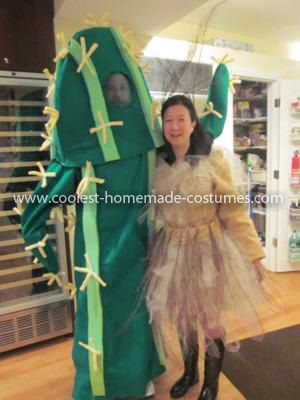 Coolest Cactus Tumbleweed Flowers and Tree Family Costume