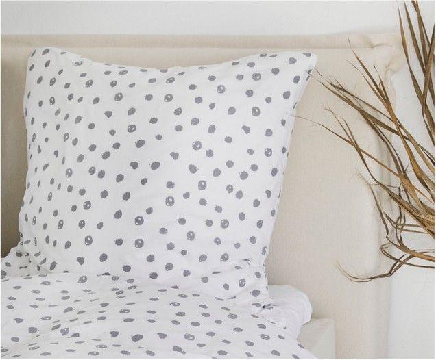 Renforce Bettwasche Jana Mit Punkten Pillows Bed Bed Pillows