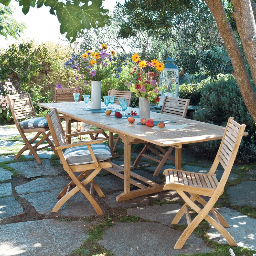 Merveilleux Maison Du Monde Table De Jardin #10: Fold Away Table U0026 Chairs - This Is Nice