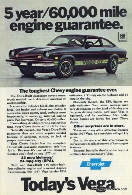 The chevrolet vega is a subcompact automobile that was for Chevrolet division of general motors