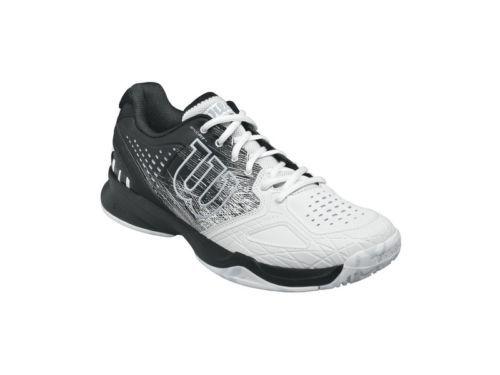 49a7af2b14a2 Shoes 62230  Wilson Kaos Comp Mens Tennis Shoes - White Black BUY IT ...