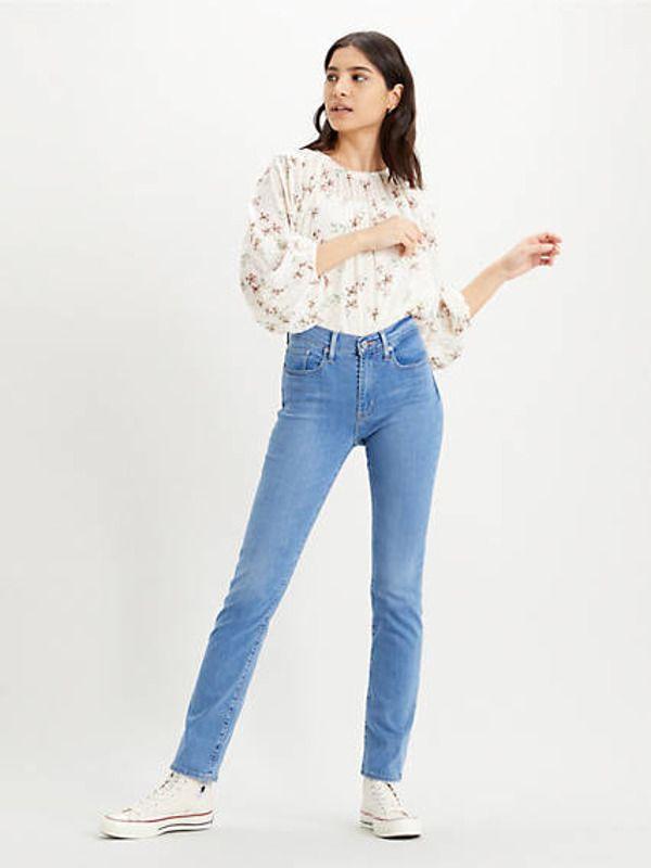 724™ High-waisted Straight Jeans - Light Indigo