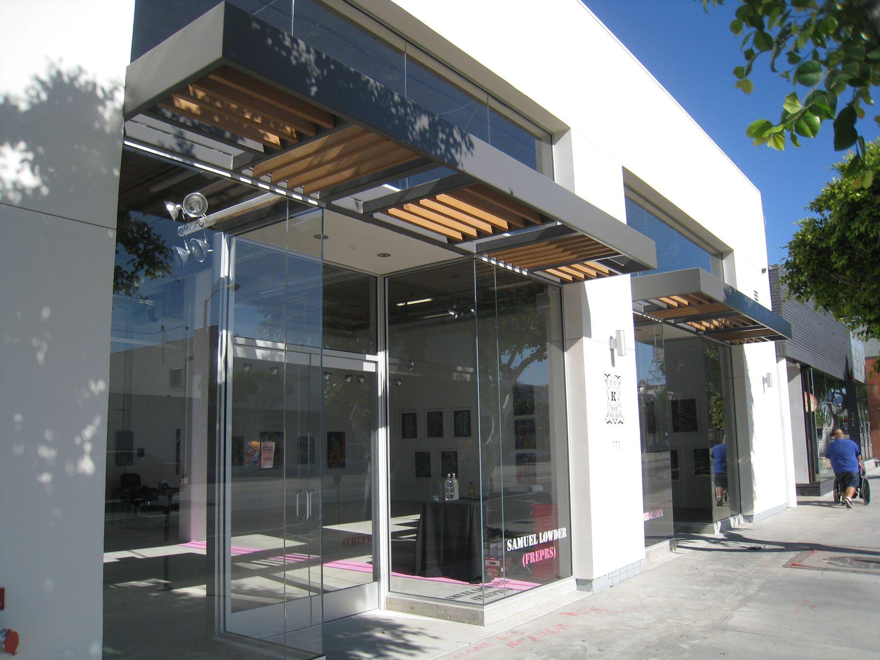 Modern Retail Storefront