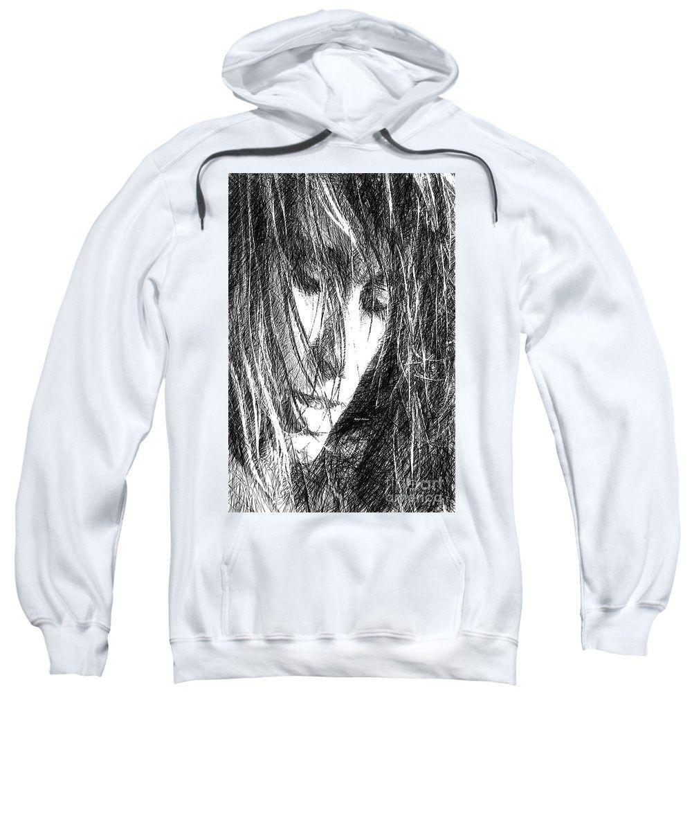 Sweatshirt - Female Drawing Sketch