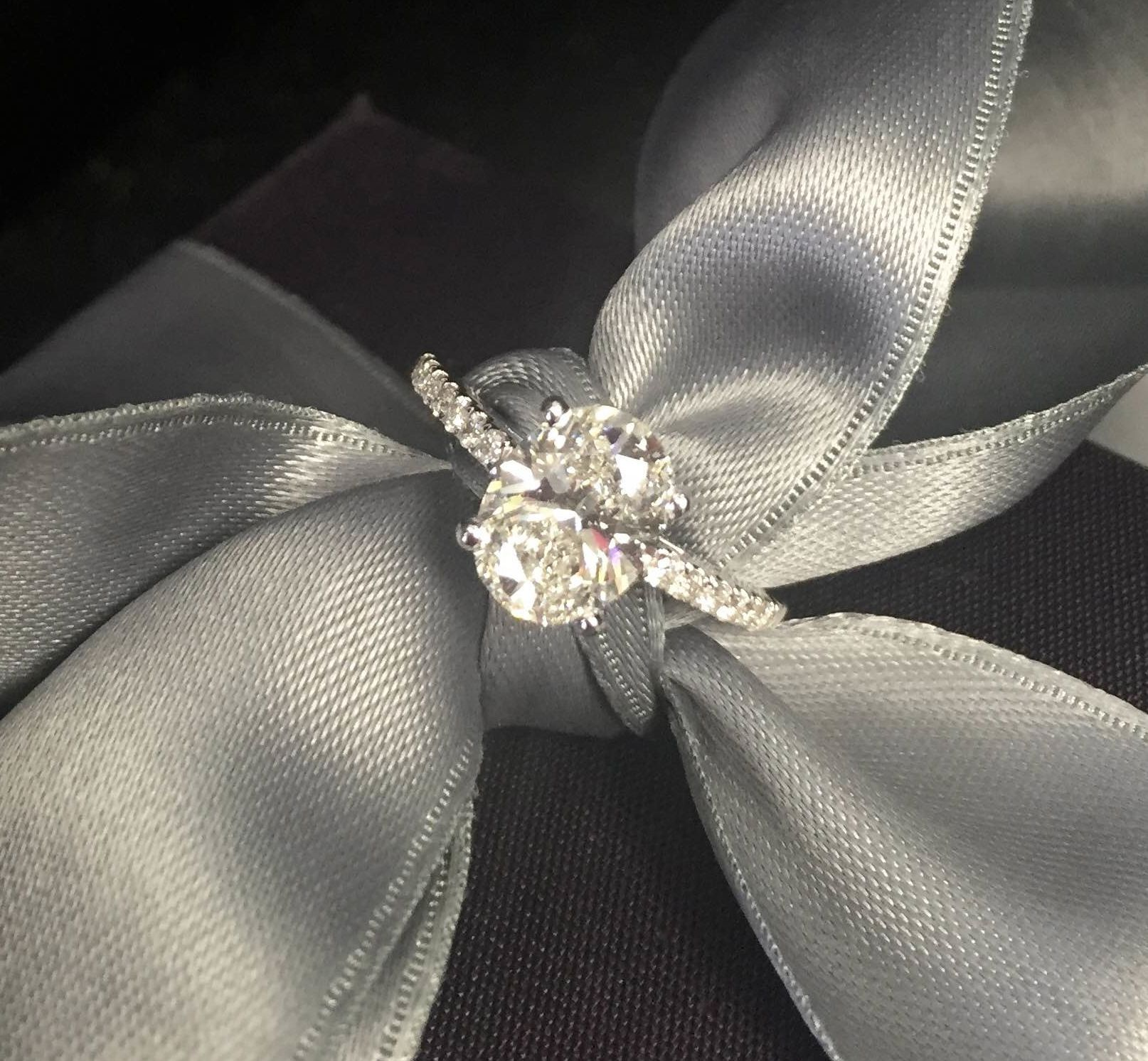 Oval Diamond Engagement Ring from Rothschild Diamond!