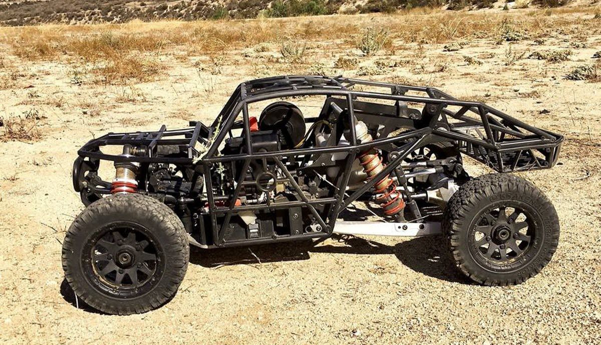 Wish There Was A Solid Axle 1 5 Scale Desert Buggy Here It Is Video Desert Buggy Buggy Rc Buggy