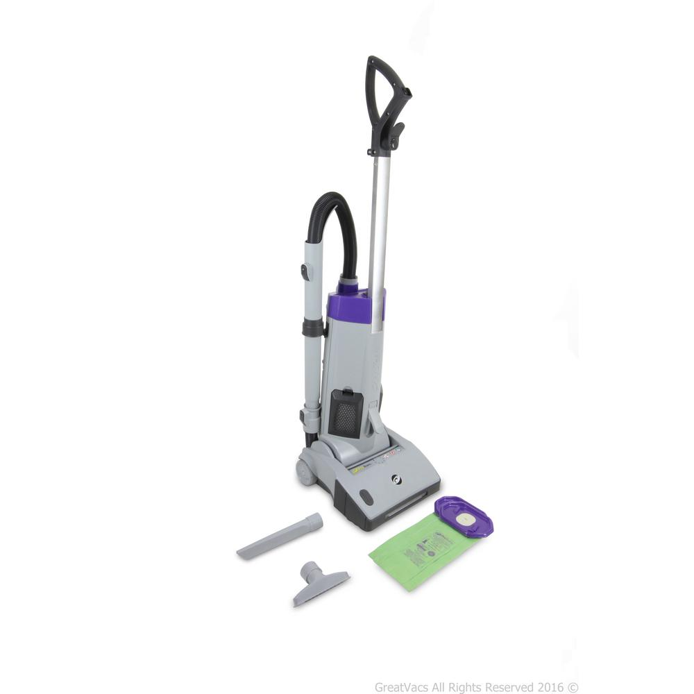 ProTeam ProGen 12 Upright Vacuum Cleaner, Grays