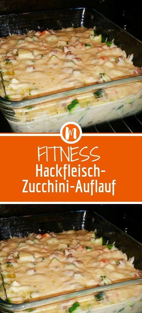 Fitness Hackfleisch-Zucchini-Auflauf   - Einfach Lecker - #Einfach #Fitness #HackfleischZucchiniAufl...
