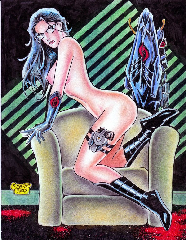 Idw comics baroness original art cobra latex sexy gi joe duke snake eyes flint