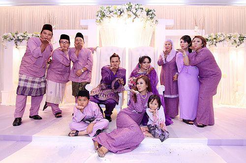 family pose 19 2 12 reception Malaysian Wedding