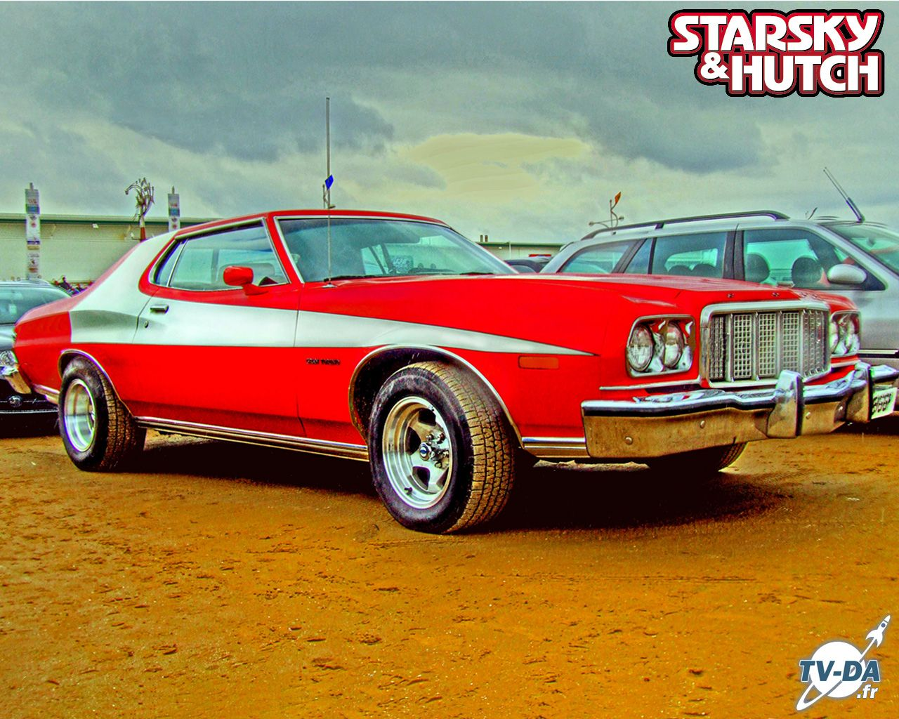 starsky and hutch gran torino starsky et hutch ford gran torino red hot famous vehicles. Black Bedroom Furniture Sets. Home Design Ideas