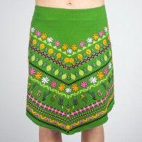 Comounaregadera Salsa sukňa zelená S,M