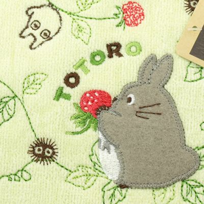 [My Neighbor Totoro] have a mini-towel (full-scale embroidery, towel handkerchief)