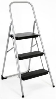 Marvelous 3 Step Stepstool Canadian Tire Ladders And Stools Theyellowbook Wood Chair Design Ideas Theyellowbookinfo