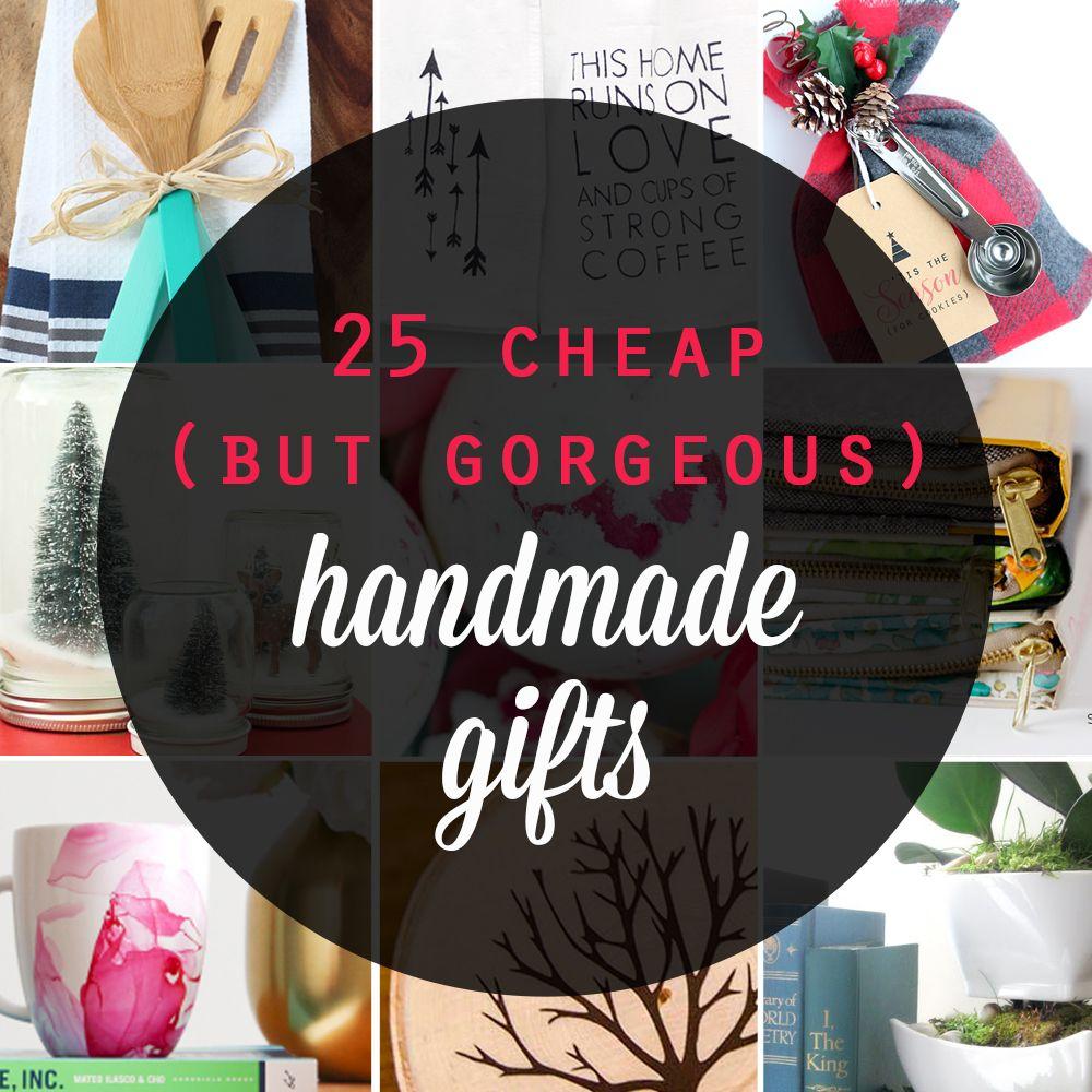 25 cheap but gorgeous diy gift ideas handmade christmas 25 cheap and gorgeous diy gift ideas inexpensive handmade christmas and holiday gift ideas and solutioingenieria Choice Image