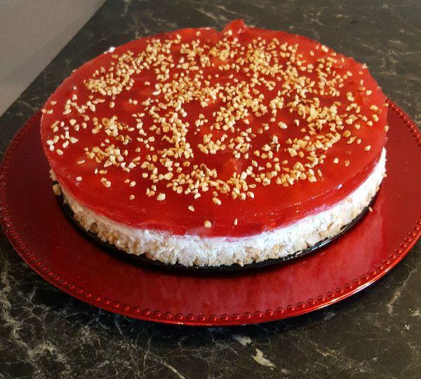 BloggerParade Kokos-Erdbeer-Torte