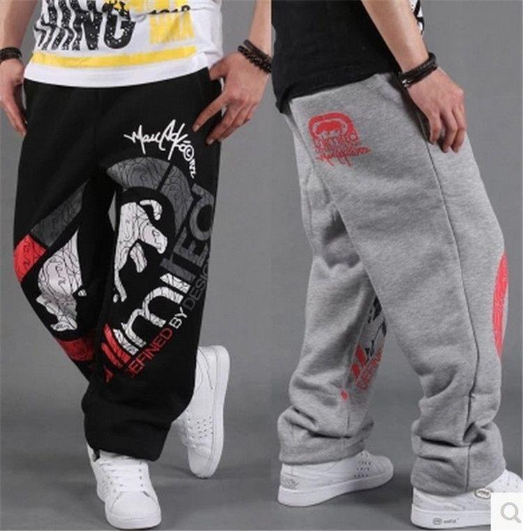 Baggy Pant Hip Hop B-BOY Dance Harem Sweatpants Crotch Pants Men a16717137fc