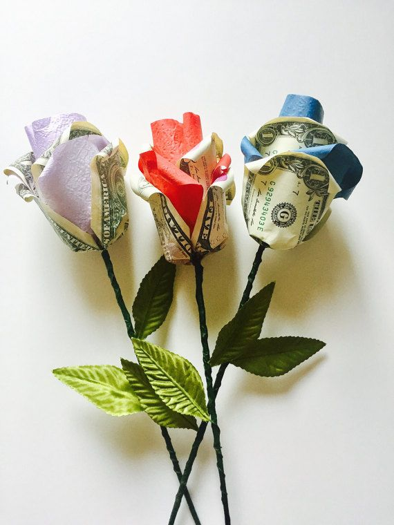 Origami Money Rose Money Origami Money Art Paper Flowers