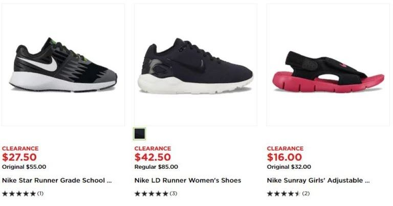 00827994 Kohl's: Clearance Deals on Nike Shoes | Amazing Deals | Nike shoes ...