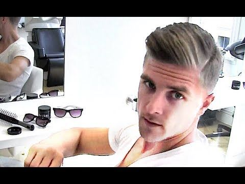 ▶ Gareth Bale men's footballer haircut and styling turorial | By Vilain - YouTube