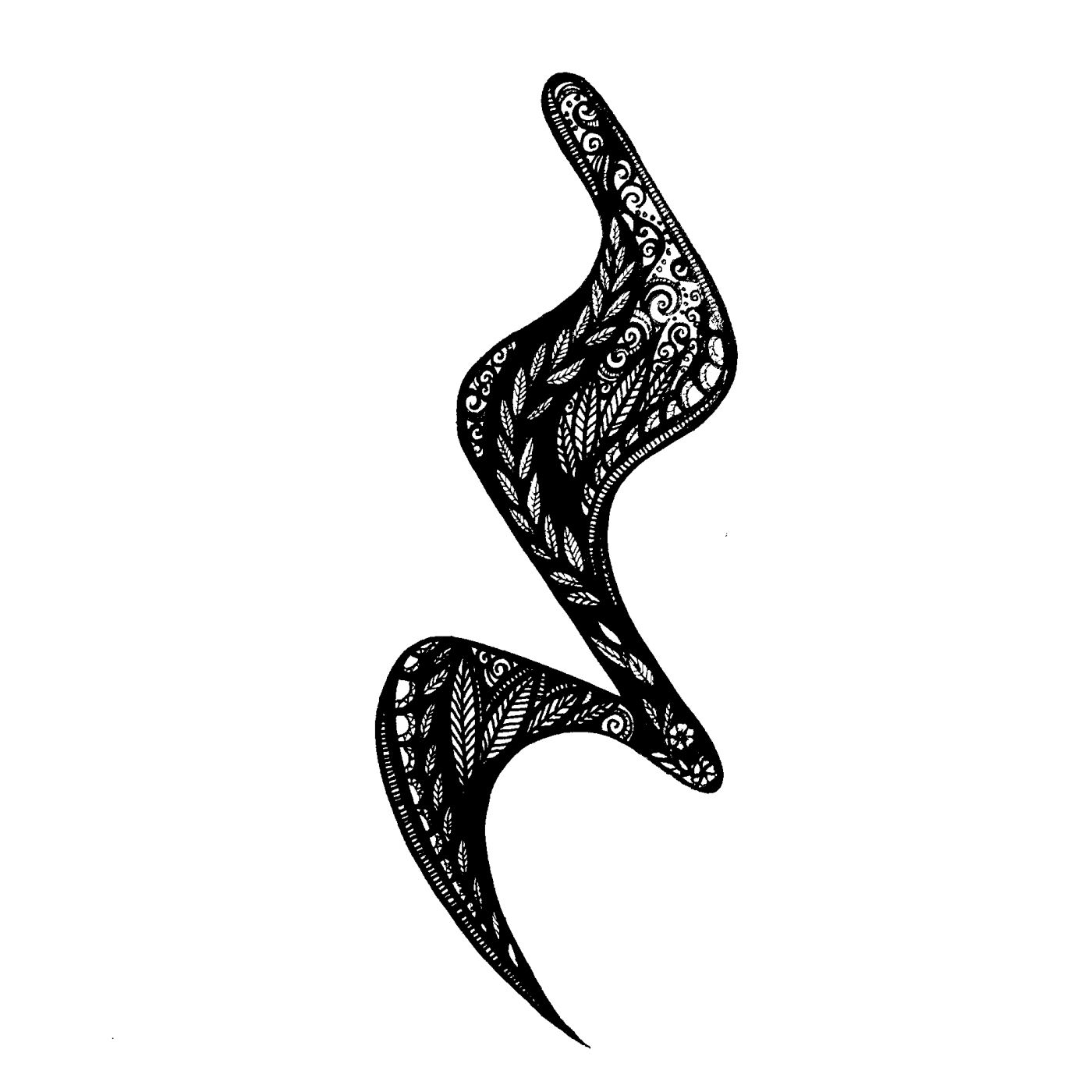 The Sound Of Silence In 2020 Tattoos Tribal Tattoos Crotchet