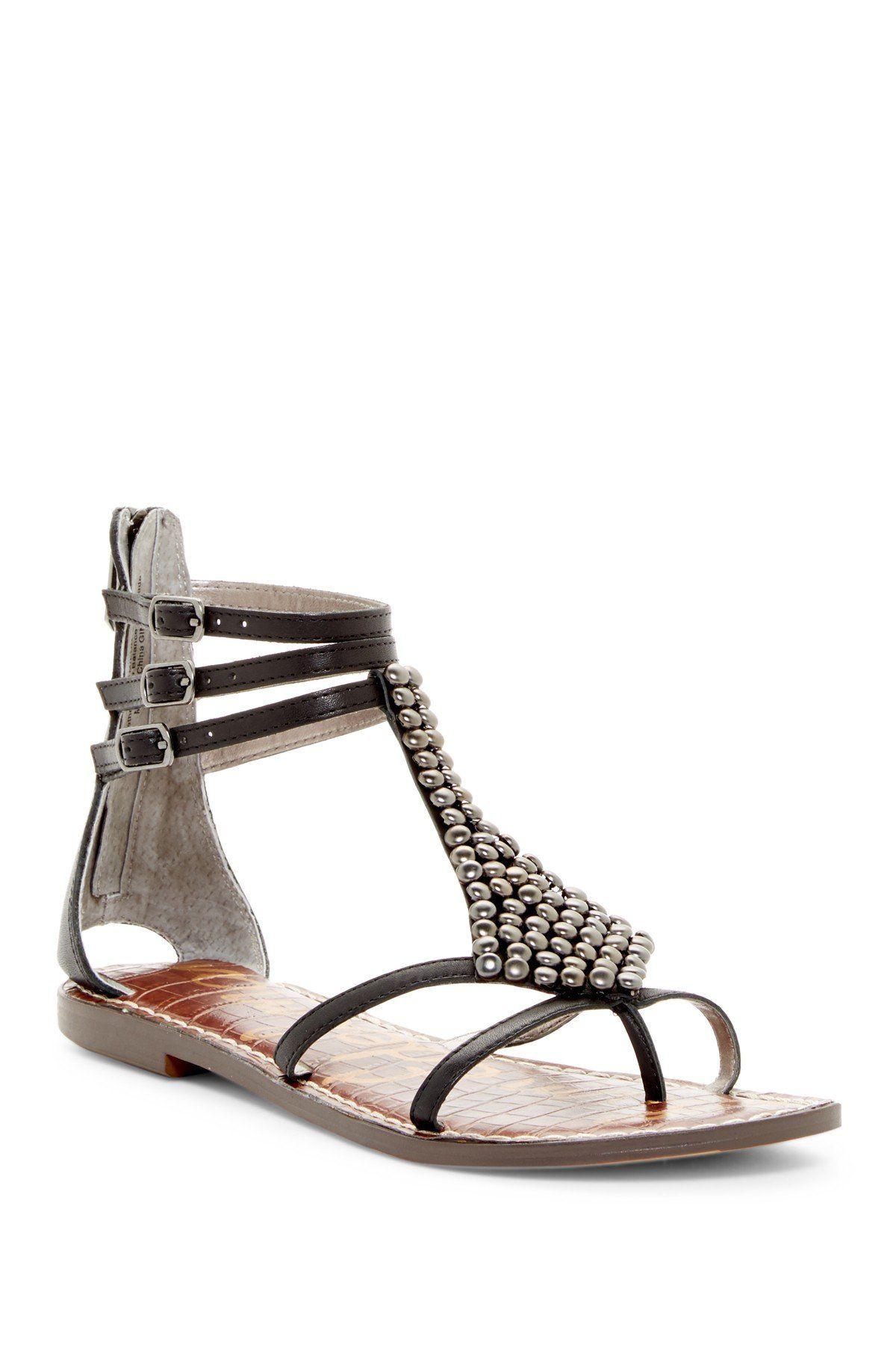 Ginger Beaded Gladiator Sandal