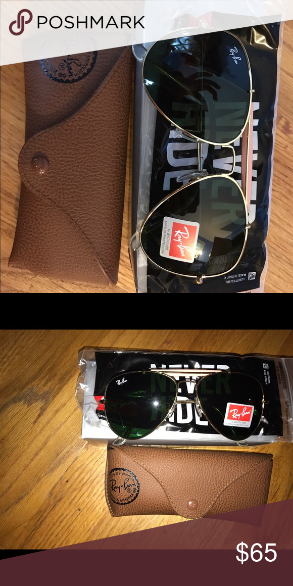 1e251360e4cb ... australia brand new ray ban aviator glasses brand new standard size aviator  ray bans bf625 0a876