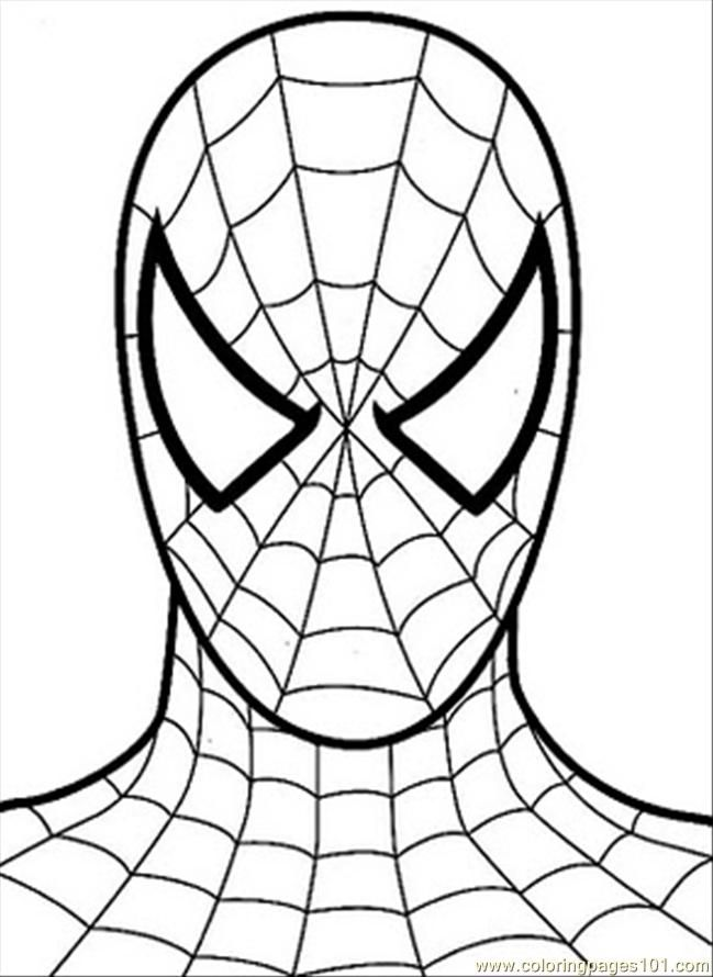 printable spiderman coloring pages coloring pages - Coloring Pages Spiderman Printable