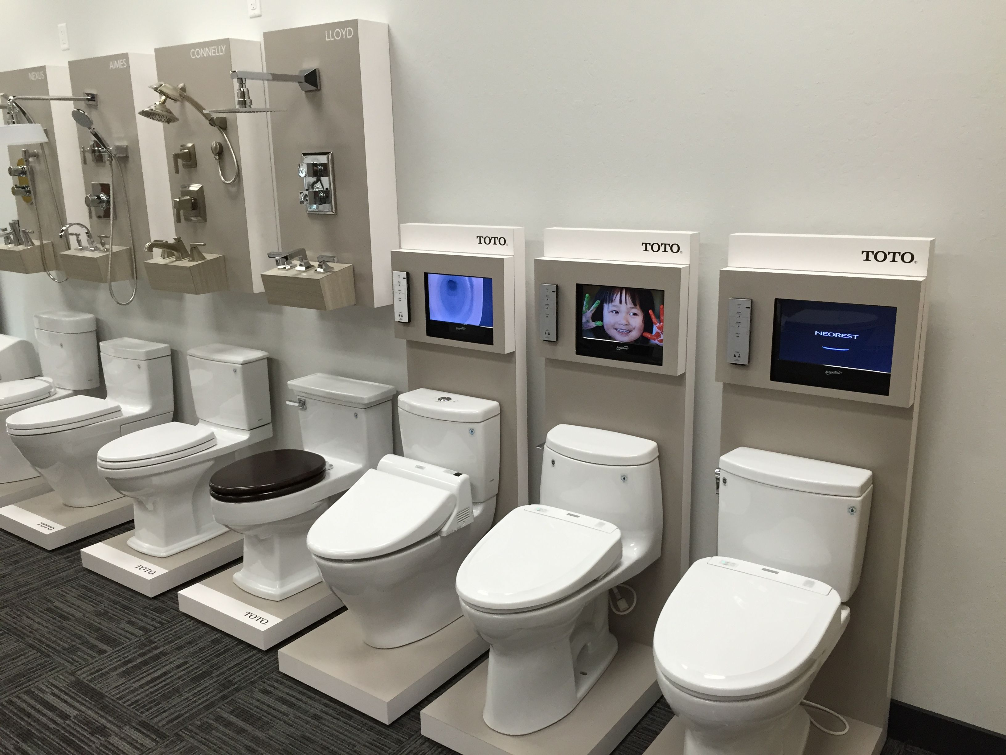 Toilet Display | The New Showroom | Pinterest | Showroom, Toilet and ...
