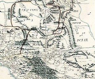 mapa Coahuila de 1700... 1800... | Mexico Stuff | Map, Mexico ...